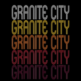 Granite City, IL | Retro, Vintage Style Illinois Pride