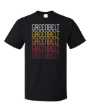 Standard Black Greenbelt, MD | Retro, Vintage Style Maryland Pride  T-shirt