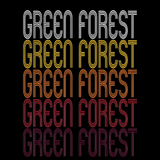 Green Forest, AR | Retro, Vintage Style Arkansas Pride