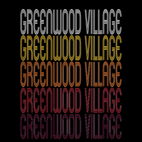 Greenwood Village, CO | Retro, Vintage Style Colorado Pride