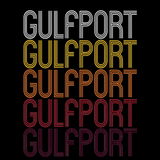 Gulfport, MS | Retro, Vintage Style Mississippi Pride