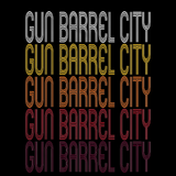Gun Barrel City, TX | Retro, Vintage Style Texas Pride