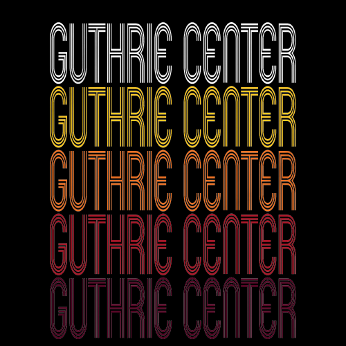 Guthrie Center, IA | Retro, Vintage Style Iowa Pride