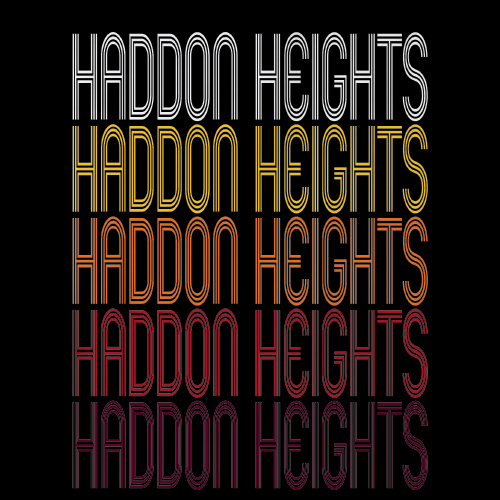 Haddon Heights, NJ | Retro, Vintage Style New Jersey Pride