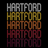 Hartford, CT | Retro, Vintage Style Connecticut Pride