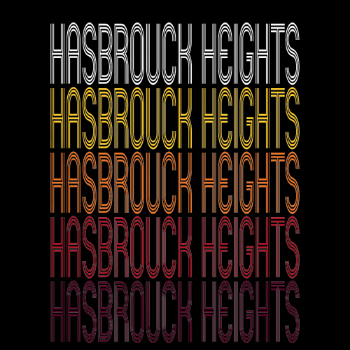 Hasbrouck Heights, NJ | Retro, Vintage Style New Jersey Pride