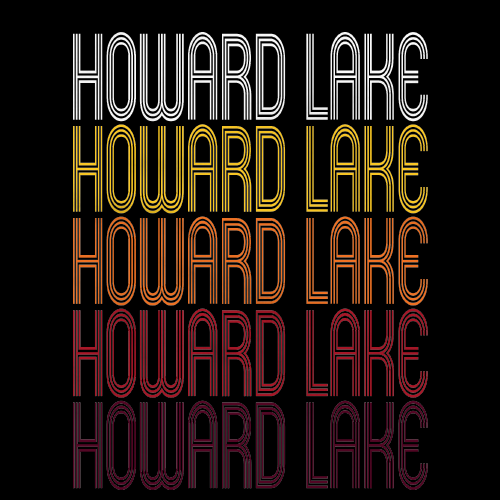 Howard Lake, MN | Retro, Vintage Style Minnesota Pride