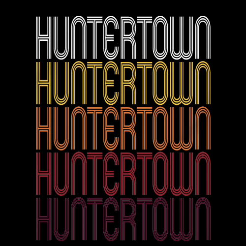 Huntertown, IN | Retro, Vintage Style Indiana Pride