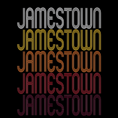 Jamestown, NC | Retro, Vintage Style North Carolina Pride