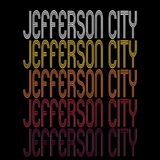 Jefferson City, MO | Retro, Vintage Style Missouri Pride