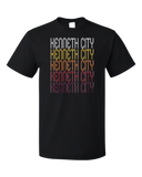 Standard Black Kenneth City, FL | Retro, Vintage Style Florida Pride  T-shirt
