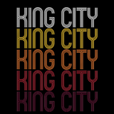 King City, OR | Retro, Vintage Style Oregon Pride