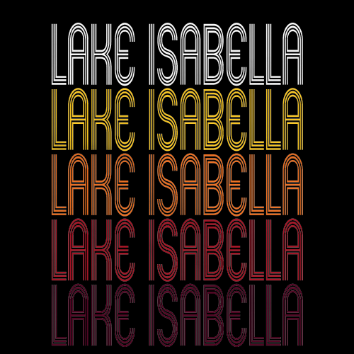 Lake Isabella, MI | Retro, Vintage Style Michigan Pride
