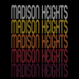 Madison Heights, MI | Retro, Vintage Style Michigan Pride