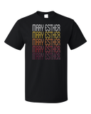 Standard Black Mary Esther, FL | Retro, Vintage Style Florida Pride  T-shirt