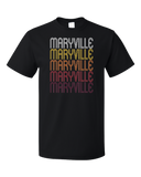 Standard Black Maryville, TN | Retro, Vintage Style Tennessee Pride  T-shirt