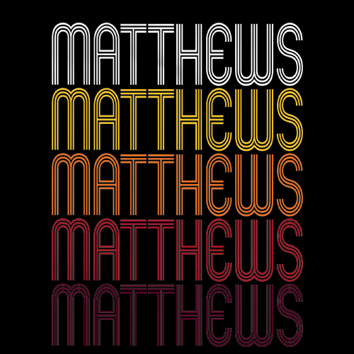 Matthews, NC | Retro, Vintage Style North Carolina Pride