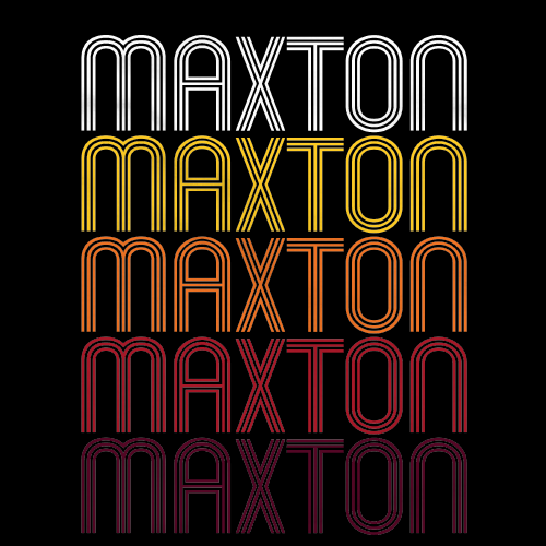 Maxton, NC | Retro, Vintage Style North Carolina Pride