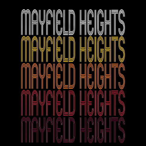 Mayfield Heights, OH | Retro, Vintage Style Ohio Pride
