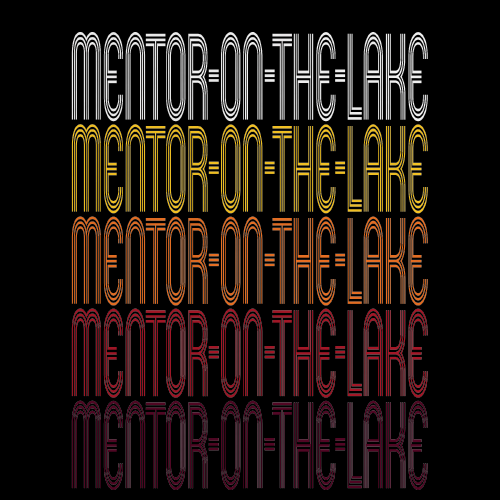 Mentor-On-The-Lake, OH | Retro, Vintage Style Ohio Pride