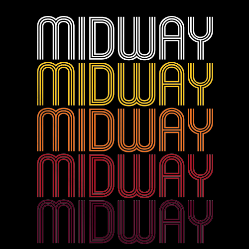 Midway, NC | Retro, Vintage Style North Carolina Pride