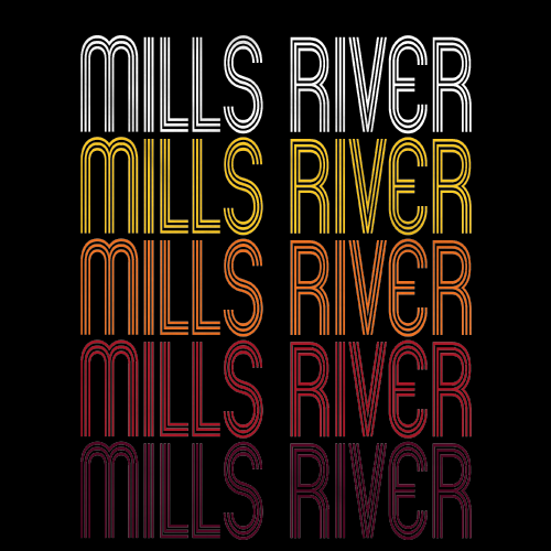 Mills River, NC | Retro, Vintage Style North Carolina Pride