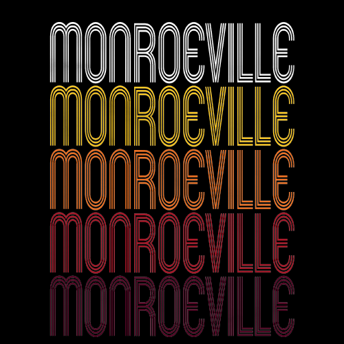 Monroeville, IN | Retro, Vintage Style Indiana Pride