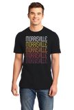 Standard Black Morrisville, NY | Retro, Vintage Style New York Pride  T-shirt