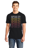 Standard Black Neptune City, NJ | Retro, Vintage Style New Jersey Pride  T-shirt