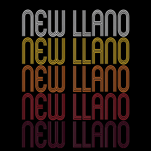 New Llano, LA | Retro, Vintage Style Louisiana Pride