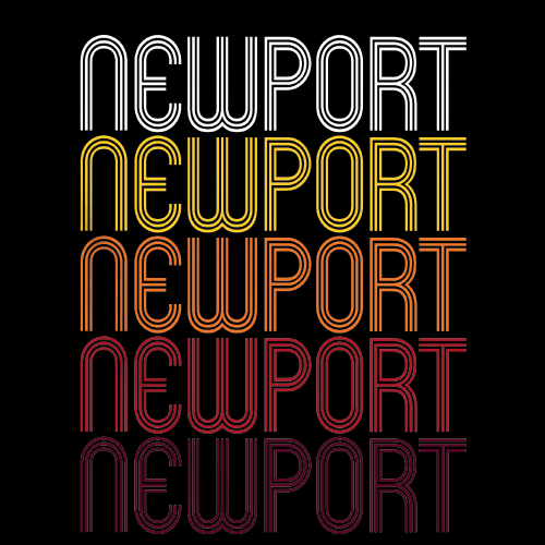 Newport, WA | Retro, Vintage Style Washington Pride