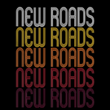New Roads, LA | Retro, Vintage Style Louisiana Pride