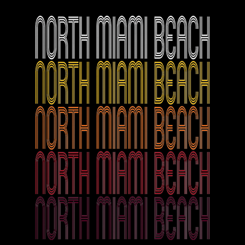 North Miami Beach, FL | Retro, Vintage Style Florida Pride