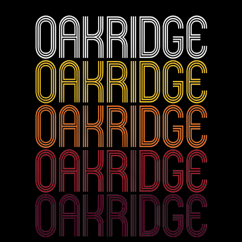 Oakridge, OR | Retro, Vintage Style Oregon Pride