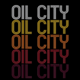 Oil City, LA | Retro, Vintage Style Louisiana Pride