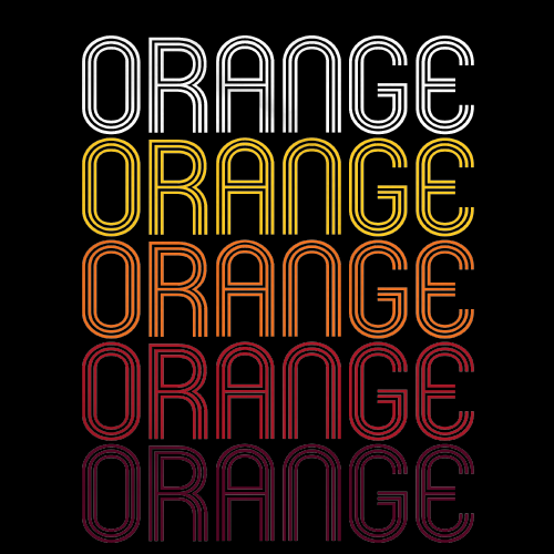 Orange, OH | Retro, Vintage Style Ohio Pride