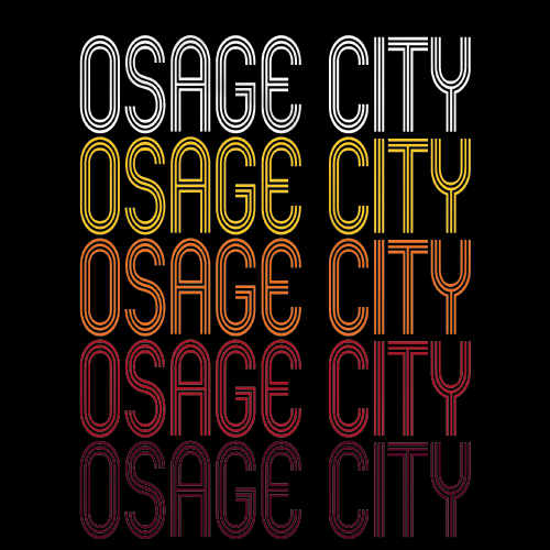 Osage City, KS | Retro, Vintage Style Kansas Pride