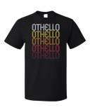 Standard Black Othello, WA | Retro, Vintage Style Washington Pride  T-shirt