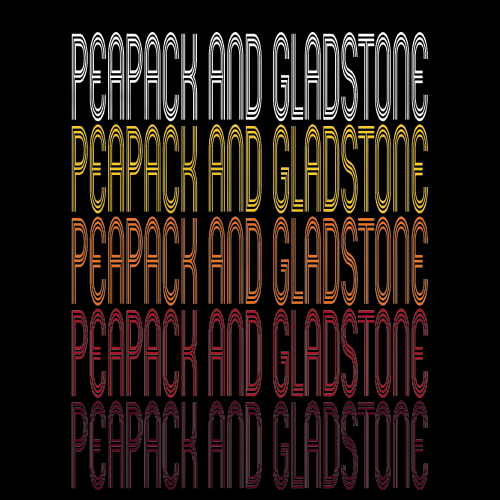 Peapack and Gladstone, NJ | Retro, Vintage Style New Jersey Pride