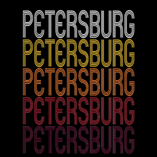 Petersburg, MI | Retro, Vintage Style Michigan Pride