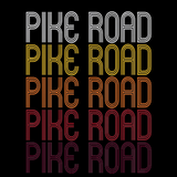 Pike Road, AL | Retro, Vintage Style Alabama Pride
