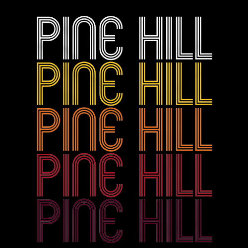 Pine Hill, NJ | Retro, Vintage Style New Jersey Pride