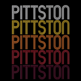 Pittston, PA | Retro, Vintage Style Pennsylvania Pride