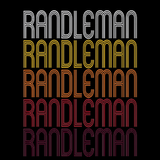 Randleman, NC | Retro, Vintage Style North Carolina Pride
