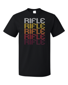 Standard Black Rifle, CO | Retro, Vintage Style Colorado Pride  T-shirt