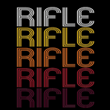Rifle, CO | Retro, Vintage Style Colorado Pride