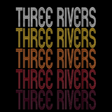 Three Rivers, MI | Retro, Vintage Style Michigan Pride