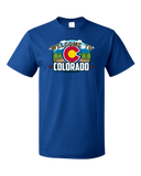 Standard Royal Welcome To Colorado - Rocky Mountain High Pride 420 Legal CU T-shirt