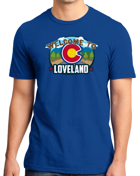 Standard Royal Welcome To Loveland, Colorado - Sweetheart City Denver 420 T-shirt