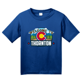 Youth Royal Welcome To Thornton, Colorado - Thornton Love Denver Broncos T-shirt